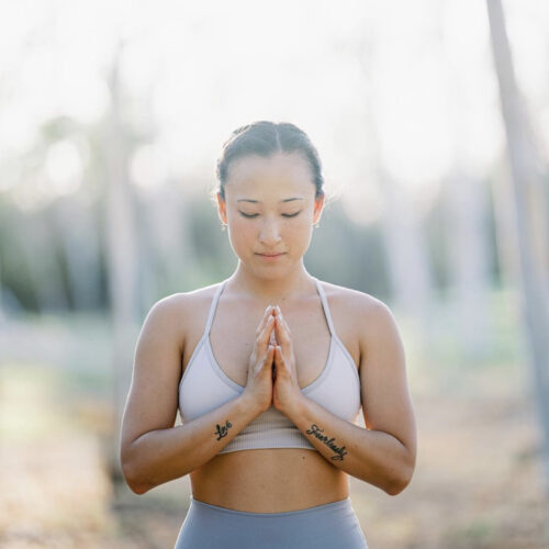 Meditation + Stretch: connect with nature by Julianne Aerhee Byun