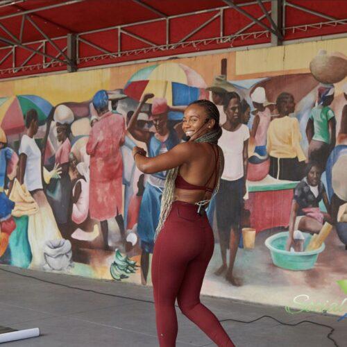 Soca & Afrobeat HIIT Workout and Heart Health by Kilan C. Ashad-Bishop Ph.D & Dr. Heather Johnson (Baptist Health)