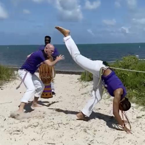 Professor Alemao of Capoeira Superação Arts & Fitness Studio