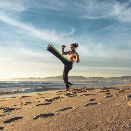 Capoeira with Professor Alemao from Capoeira Superação Arts & Fitness Studio
