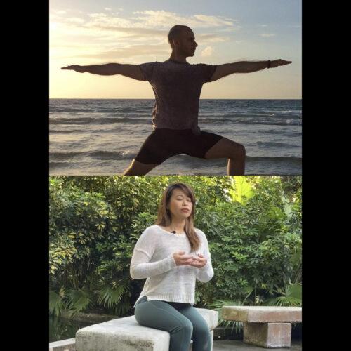 Yoga with Adrian Molina + Meditation with Amy Exum (Baptist Health)