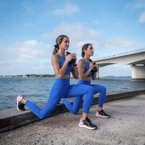 Full Body Workout with Ashley & Amanda Rosenberg